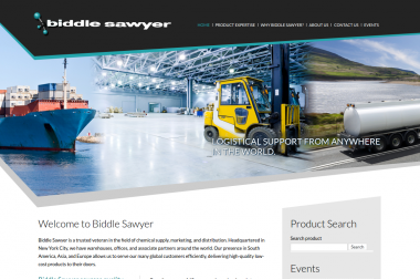 Biddle Sawyer – chemicals supply and marketing