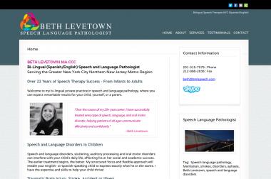 Beth Levetown – speech therapist